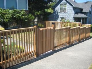 Sunlight-Filtering Fence