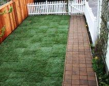 Full Spectrum Gardens - Side Yard, Walkway